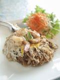 Pat Thai, nourriture populaire, épicée, nourriture de la Thaïlande Photographie stock