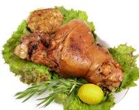 Pata Roasted da carne de porco Fotos de Stock