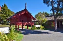 Pataca (approvisionnements à la maison de stockage) Tribu maorie Quelque part en Nouvelle Zélande Image libre de droits