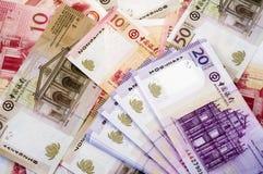 patacas macau доллара Стоковое Изображение