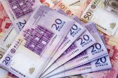 patacas macau доллара Стоковое Фото
