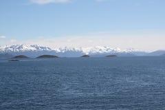 patagonia океана Стоковая Фотография