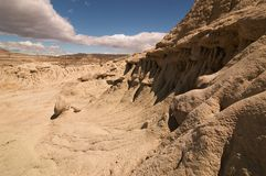Patagonia Argentina. Desert Brown Landscape Royalty Free Stock Images