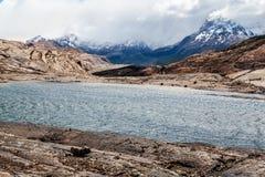Patagonia Argentina Lake Stock Photo