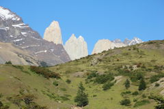 Patagonia argentina - park of torres del paine Royalty Free Stock Images