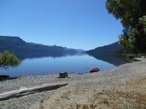Patagonia Argentine de Traful de villa photos libres de droits