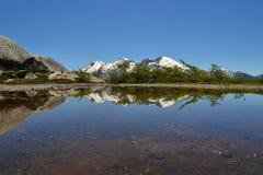 Patagonia bonito, íris de Arco, Cochamo, o Chile Fotos de Stock