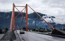 Patagonia Chile. Chilenean patagonia, carretera austral Puerto Aysen Stock Images