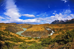 The Patagonia, Chile Royalty Free Stock Images