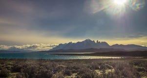 Patagonia, Chile - Torres Del Paine, auf dem südlichen Patagonian Eis-Gebiet, Magellanes-Region von Südamerika stockfoto