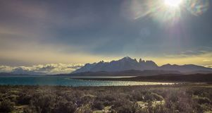 Patagonia, Chile - Torres del Paine, in the Southern Patagonian Ice Field, Magellanes Region of South America stock photo