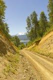 Patagonia . Chileneas routes. Stock Image