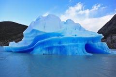 Patagonia cilena alla luce solare Fotografia Stock