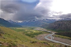 Patagonia d'EL Chalten Photographie stock