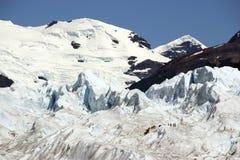 Patagonia-Eis-Bergsteiger Stockfotografie