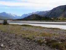 Patagonia, EL chalten, der fitz Roy-Berg Lizenzfreie Stockfotos