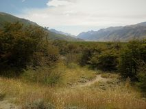 Patagonia, EL chalten, der fitz Roy-Berg Stockfotografie