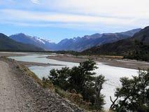 Patagonia, EL chalten, der fitz Roy-Berg Lizenzfreies Stockfoto