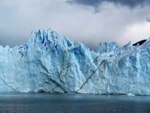 Patagonia, el perito Moreno fotos de archivo