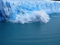 Patagonia, el perito Moreno imagen de archivo