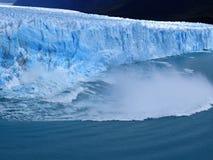 Patagonia, el perito Moreno fotografía de archivo