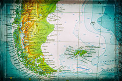 Patagonia and Falkland Islands Stock Image