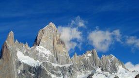 Patagonia Fitz Roy halny skalisty szczyt Obraz Royalty Free