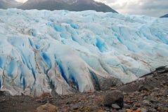 Patagonia glacial do terreno, Argentina Fotografia de Stock