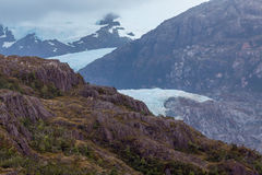 Patagonia Glacier. View from the Ship Royalty Free Stock Image