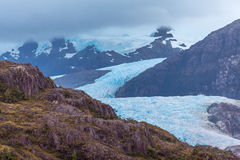 Patagonia Glacier. View from the Ship Royalty Free Stock Images