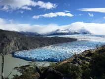Patagonia glaciers stock photography