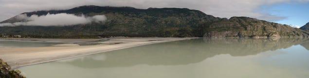 Patagonia jezioro zdjęcie royalty free