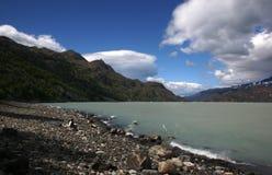 Patagonia krajobraz obraz stock