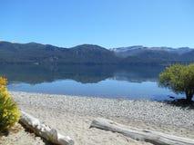 Patagonia la Argentina de Traful del chalet imagenes de archivo