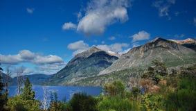 Patagonia lake Stock Photography