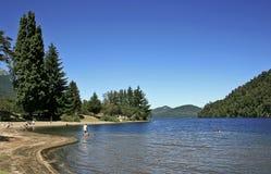 Patagonia Lake Stock Images