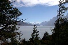 Patagonia lake royalty free stock images