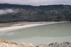 Patagonia lake Royalty Free Stock Photo