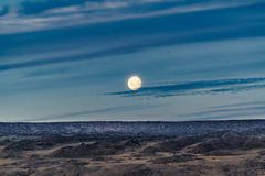 Patagonia Landscape Moonscape Scene, Argentina. Patagonian moonscape landscape scene at Santa Cruz province, Argentina royalty free stock photography