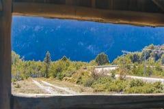 Patagonia Landscape, Aysen, Chile. Patagonia landscape scene at Aysen district, Patagonia, Chile royalty free stock photo