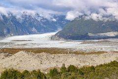 Exploradores Glacier, Patagonia, Chile Royalty Free Stock Photos