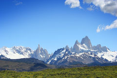 Patagonia Landscape, south of Argentina Stock Image