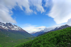 Patagonia Landscape, south of Argentina royalty free stock image