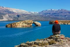 Patagonia. Landscapes in Argentina Stock Images