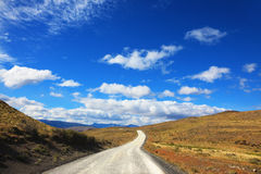 Patagonia mágico do país Fotos de Stock Royalty Free