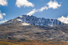 Patagonia Mountain Landscape Scene, Aisen Chile Stock Images