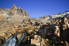 Patagonia mountains Royalty Free Stock Images