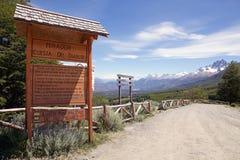 Patagonia, o Chile imagem de stock royalty free