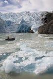 patagonia rafael san ледника Чили Стоковые Изображения RF