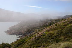 Patagonia sjö arkivfoton